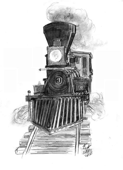0 Locomotive Drawings by 4 4 0 Steam Engine 2 By Kearnold On Deviantart