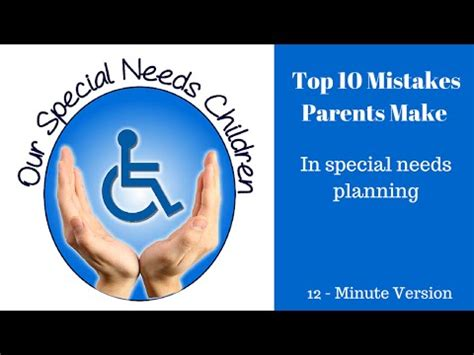 Financing 10 Mistakes That Most Make by Top 10 Mistakes Parents Make