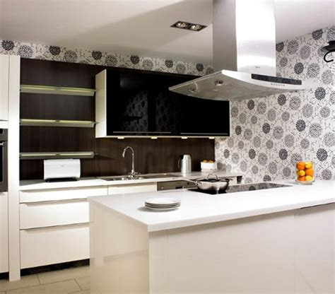 modern kitchen wallpaper ideas 15 cocinas modernas color marr 243 n