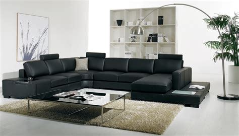 modern u shaped sectional sofa t 35 large u shaped modern leather sectional sofa with lights