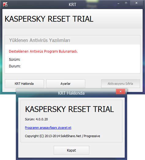 reset password kaspersky endpoint yazıcı versiyonu gt kaspersky reset trial 4 0 0 20 final tr