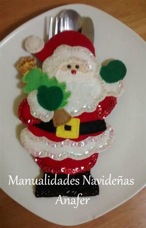 Cover Sendok Garpu Cutlery Santa Natal Ornamen 1454 best images about mu 241 ecos de navidad on mesas santa and felt applique
