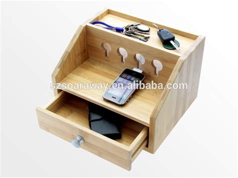 wooden charging station organizer bamboo cell phone charging station wood desktop organizer