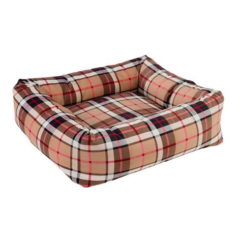 plaid dog bed tan plaid dutchie dog bed