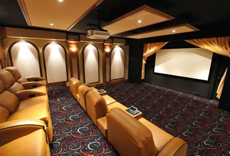 double  home theater carpet