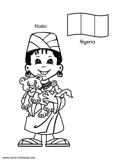 34 dessins de coloriage Afrique à imprimer