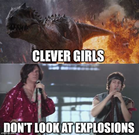 Clever Girl Meme - clever girl imgflip