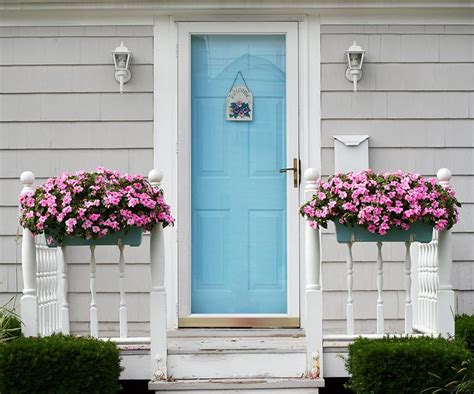 Light Blue Front Door Door Color 21 Cool Blue Front Doors For Residential Homes