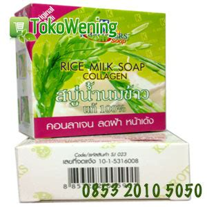 Sabun K Brothers rice milk soap k brothers 085320105050 sabun beras