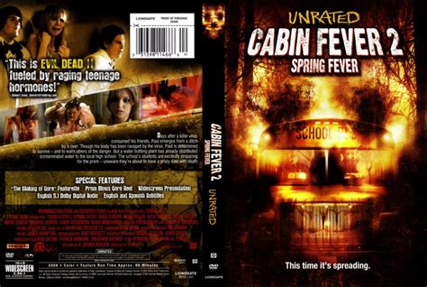 cabin fever fever cabin fever 2 fever dvd scanned covers