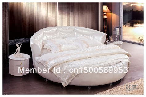 the marriage bed special leather round bed marriage bed european style bed