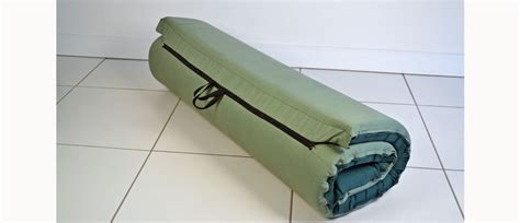 rolled up mattress images