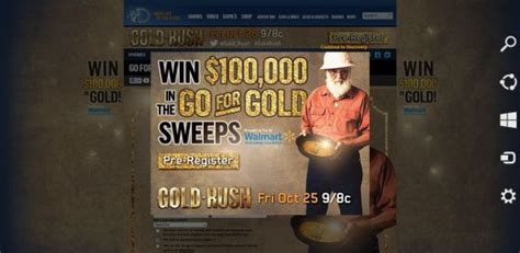 Gold Rush Sweepstakes - goldrushgiveaway com gold rush strike gold weekly sweepstakes
