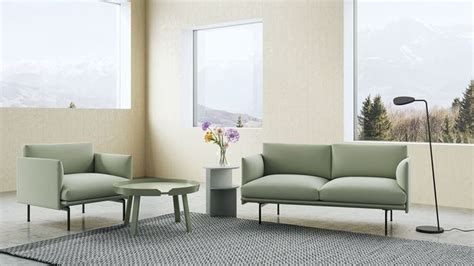 muuto outline sofa set cgtrader