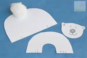 Displaying 20 gt images for polar bear crafts for kids