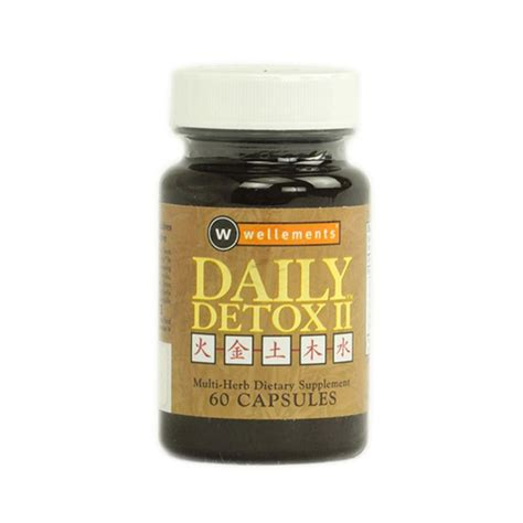 B Vitamins Detox by Daily Detox Ii 60 Caps