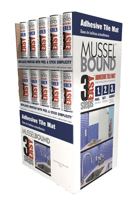 musselbound home improvement product display ninetimes