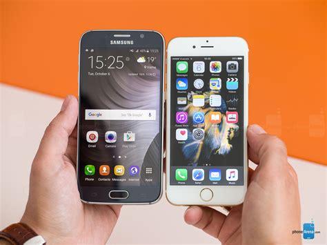 apple iphone   samsung galaxy  phonearena