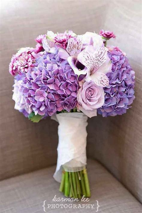 Purple Wedding Bouquets by 30 Purple Blue Wedding Bouquets Beautiful Wedding And