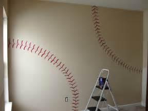 this diy house inspiration for vintage baseball and