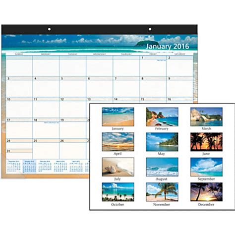 office depot desk calendar office depot brand decorative desk pad calendar paradise