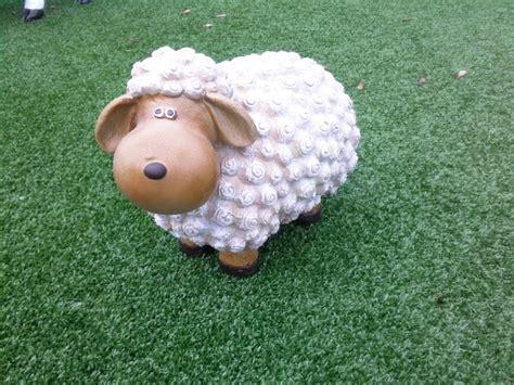 decoration de jardin animaux sculpture mouton syma mobilier jardin animaux grandeur nature statuette mouton