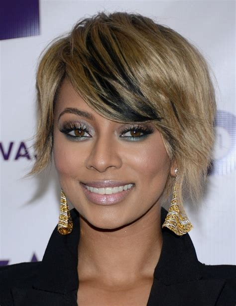 what type of hair does keri hilson have keri hilson s short hairstyles blonde with black pretty