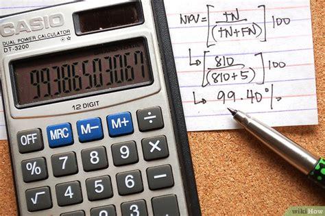 valore predittivo di un test come calcolare sensibilit 224 specificit 224 valore predittivo