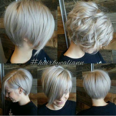 kurze haare modern einen modernen haarschnitt grau platin kurze haare stylesuche