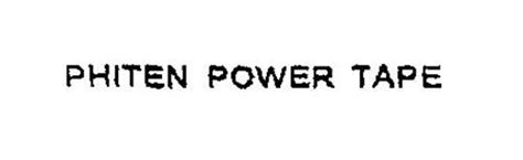 Phiten Power phiten power trademark of phild co ltd serial number 76130407 trademarkia trademarks