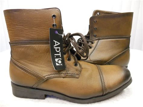 apt 9 boots apt 9 s boots apbatterson brown new no box assorted