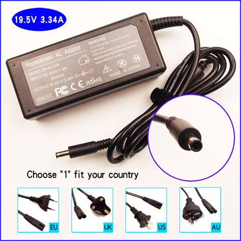 Adaptor Charger Laptop Dell 19 5v 3 34a 7 4 5 0 Original ajeyo 19 5v 3 34a laptop ac adapter battery charger power