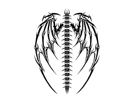 bat wing tattoo designs tribal bat wings www pixshark images galleries
