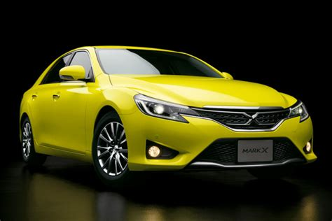 yellow toyota camry new toyota mark x yellow label a better brighter camry