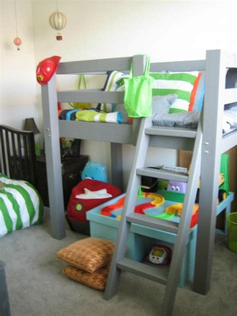 kid loft bed woodwork diy toddler bunk bed plans pdf plans