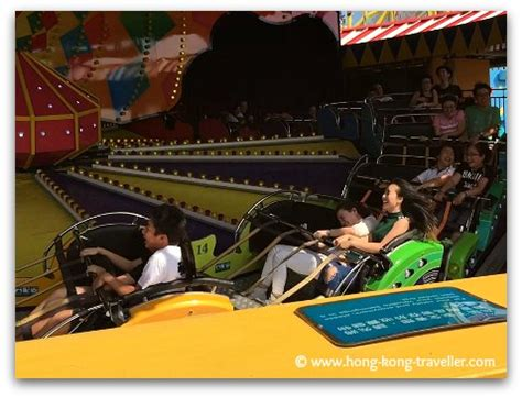 ocean park roller coasters and thrill rides