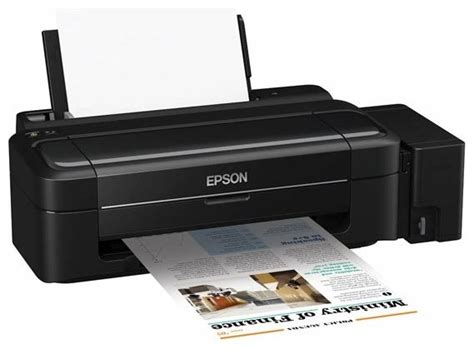 Printer Epson L300 Second epson l300 printer color 33 pages min b w a4 15 pages min color a4