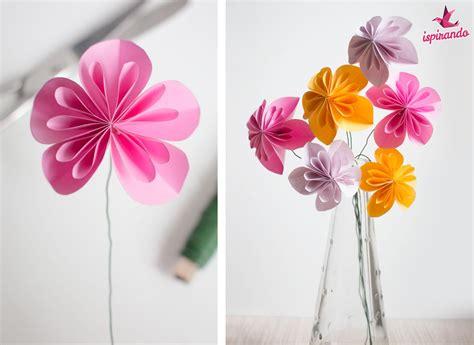 origami facili fiori tecnica origami 20 idee facili da fare piegando la carta