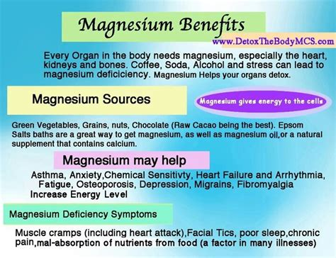 Detox Miracle Magnesium by 40 Best Magnesium The Appreciated Mineral Images On