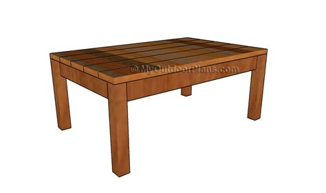 Woodworking Plans Coffee Table Free