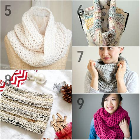faux cable scarf in lion brand wool ease thick quick 15 free chunky crochet patterns from head to toe using