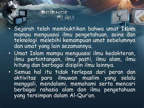 Peran Ilmu Hadis Dalam Pembinaan Hukum Islam al qur an sebagai paradigma pengembangan ilmu pengetahuan