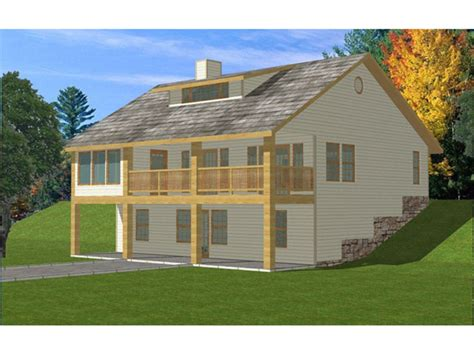 amazing house plans for sloping lots 2 front sloped lot isabella country home plan 088d 0188 house plans and more