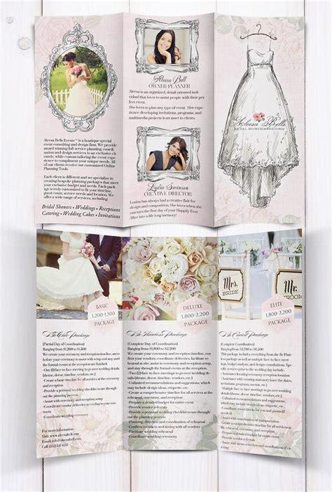 Wedding Brochure by 76 Best Brochure Wedding Images On Photography