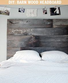 Restored Wood Headboard by 1000 Ideas About Barn Wood Headboard On