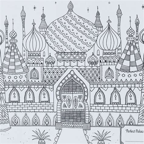 colouring book for adults waterstones palace picture from colour with me a colouring
