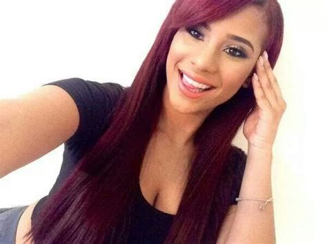 cyn santana burgundy hair cyn santana burgandy hair pinterest the world s catalog of