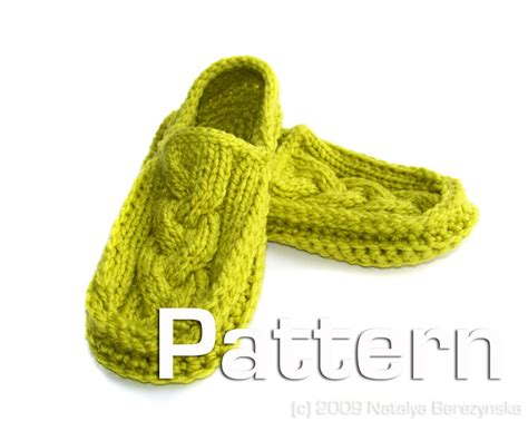 free patterns slippers patterns knit slippers 171 free patterns