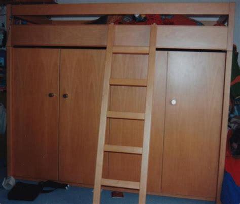 hochbett mit integriertem schrank hochbett mit schrank h 246 he 175 cm x breite 211 cm tiefe 98