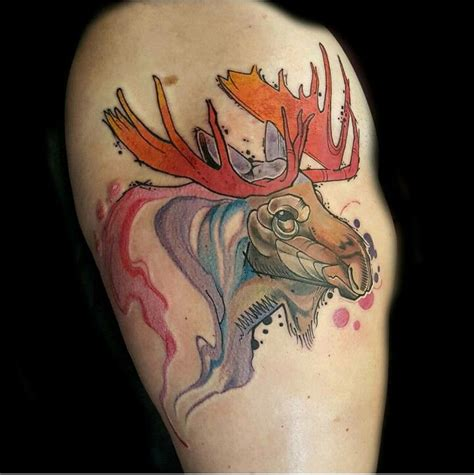 small moose tattoo best 25 moose ideas on alaskan tattoos